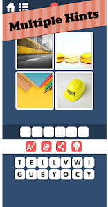 screenshot of 4 pics 1 word : picAword version 1.4