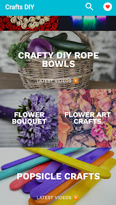 screenshot of Learn Crafts and DIY Arts version 3.0.129