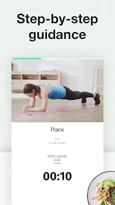 screenshot of 8fit Workouts & Meal Planner version 3.7.3