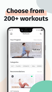 screenshot of 8fit Workouts & Meal Planner version 20.05.0