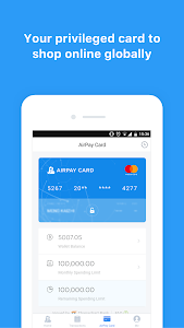 screenshot of AirPay version 1.48.22
