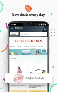 screenshot of Amazon India Online Shopping version Varies with device