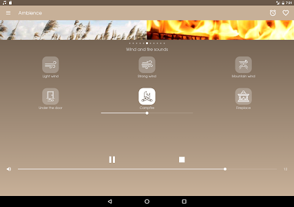 screenshot of Ambience - Nature sounds: relax and sleep version 1.20.0