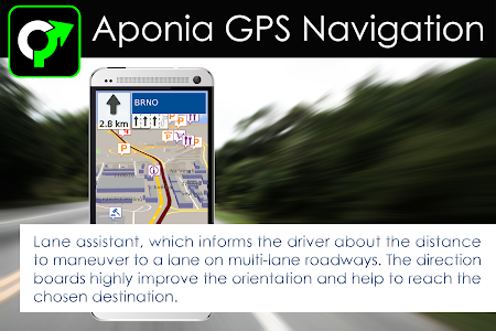 screenshot of GPS Navigation & Map by Aponia version Varies with device