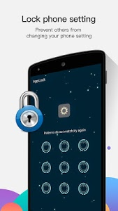 screenshot of AppLock version 2.7.3