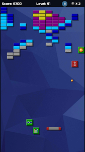 screenshot of Arkanoid Collection Free version 2.14