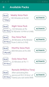 screenshot of BEST Recharge Card Scanner NTC & Ncell version 1.0.6