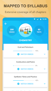 screenshot of BYJU'S – The Learning App version 3.8.1.3031