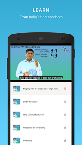 screenshot of BYJU'S – The Learning App version 3.8.3.3128