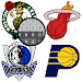Basketball Logo Color by Number:Pixel Art Coloring