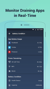 screenshot of Battery Doctor-Battery Life Saver & Battery Cooler version 6.28