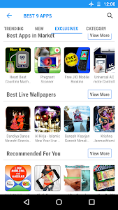 screenshot of Best 9App collection version 1.0