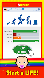 screenshot of BitLife - Life Simulator version 1.25.1