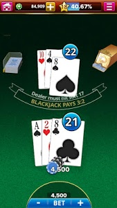 screenshot of BLACKJACK! version 1.126