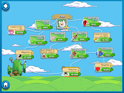 screenshot of Bloons Adventure Time TD version 1.7.1