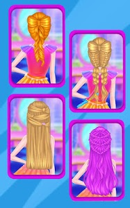 screenshot of Braided Hairstyles Salon version 1.0224