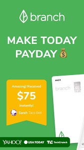 screenshot of Branch: Get Paid Instantly & Budget Before Payday version 7.10