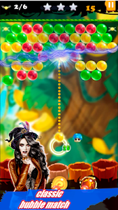 screenshot of Bubble Real Shooter : Miss Witch Game 2019 version 1.02