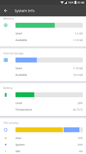 screenshot of CCleaner: Memory Cleaner, Phone Booster, Optimizer version Varies with device