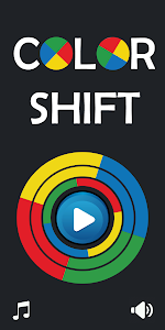 screenshot of COLOR SHIFT OBSTACLES: Fair and Fun version Varies with device