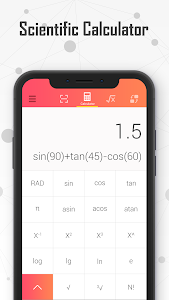 screenshot of Calculator - All In One & Free version 1.2.0