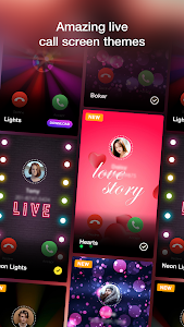 screenshot of Call Screen Themes With Flashlight On Call version 1.1.7