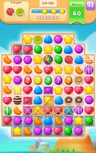 screenshot of Candy Fever version 2.1.3017