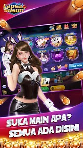 screenshot of Gaple Capsa Susun: QiuQiu(99)/Texas Remi Online version 1.0.6