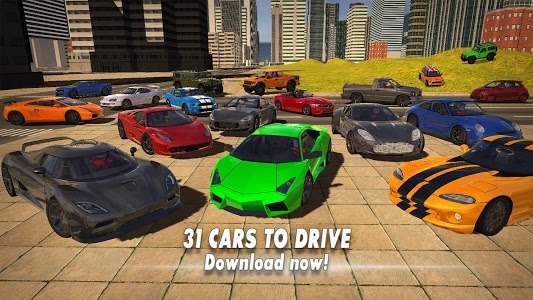screenshot of Car Simulator 2018 version 1.3.0