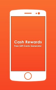 screenshot of Cash Rewards - Free Gift Cards Generator version 1.0