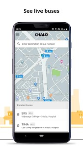 screenshot of Chalo - Live bus tracking App version 5.6.9