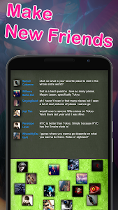 screenshot of Chat Rooms - Find Friends version 1.134385