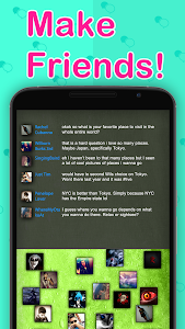 screenshot of Chat Rooms - Find Friends version 1.141419