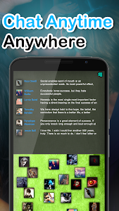 screenshot of Chat Rooms - Find Friends version 1.08157