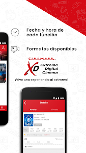 screenshot of Cinemark Perú version 4.2.10