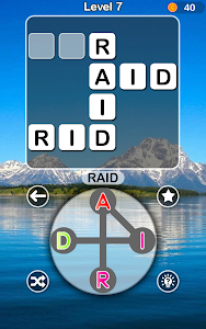 screenshot of Classic Words -Free Wordscape Game & Word Connect version 40.0