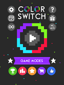 screenshot of Color Switch version 10.2.0