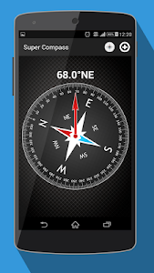 screenshot of Compass for Android - App Free version 1.6.5