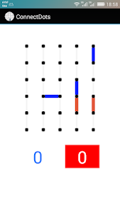 screenshot of Connecting The Dots Game version 1.8