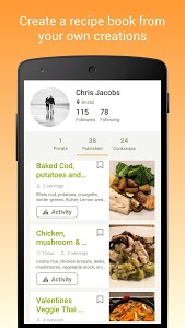 screenshot of Cookpad - Create your own Recipes version 2.113.3.0-android