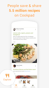 screenshot of Cookpad - Create your own Recipes version 2.115.0.0-android