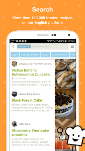 screenshot of Cookpad - Recipe Sharing App version Varies with device
