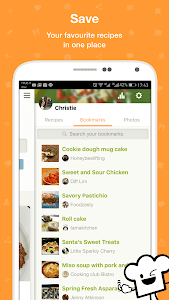 screenshot of Cookpad - home cooking recipe manager version 2.84.1.0-android
