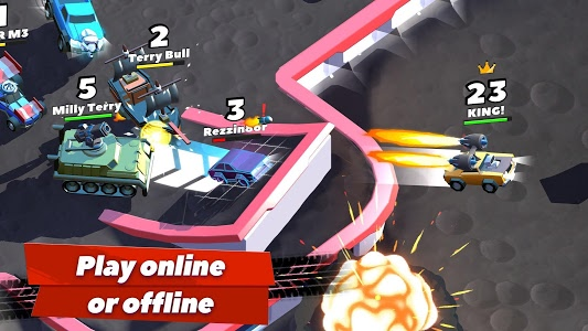 screenshot of Crash of Cars version 1.3.02