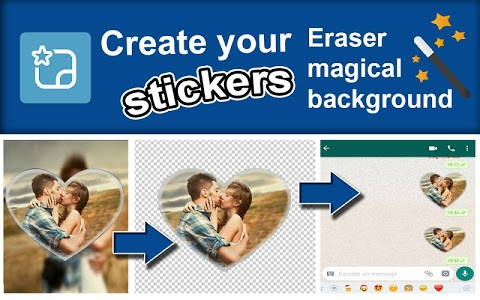 screenshot of Create stickers personales - StickerFactory version 0.0.4