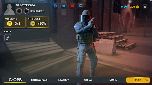 screenshot of Critical Ops: Multiplayer FPS version 1.16.0.f1109