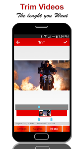 screenshot of Crop & Trim Video version Varies with device