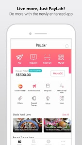 screenshot of DBS PayLah! - Supports PayNow version 4.6.2_2