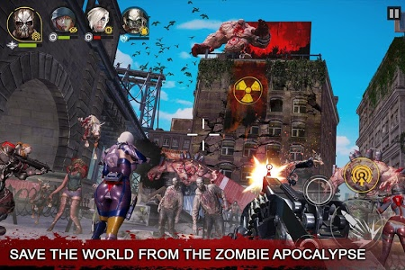 screenshot of DEAD WARFARE: Zombie Shooting - Gun Games Free version 2.2.0.71