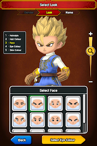screenshot of DRAGON QUEST OF THE STARS version 1.0.20